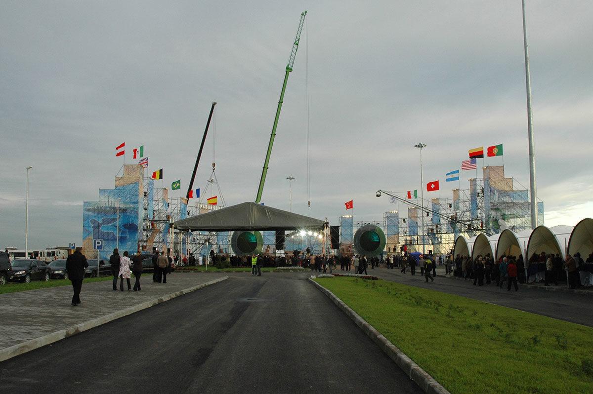 Открытие нового морского пассажирского терминала
