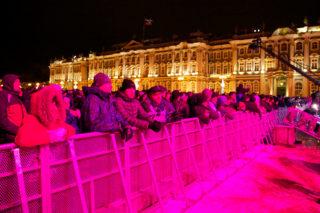 Праздничные новогодние гуляния 2012