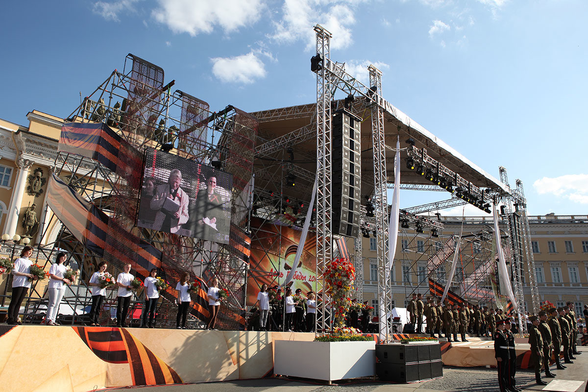 Праздничный концерт в честь 67-ой годовщины Победы