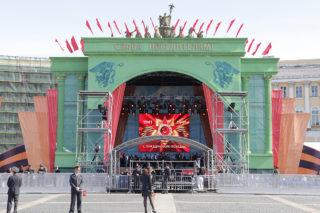 Праздничные мероприятия, приуроченные к 66-ой годовщине Победы