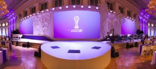 Торжественный прием по случаю Кубка Конфедерации FIFA 2017 в России