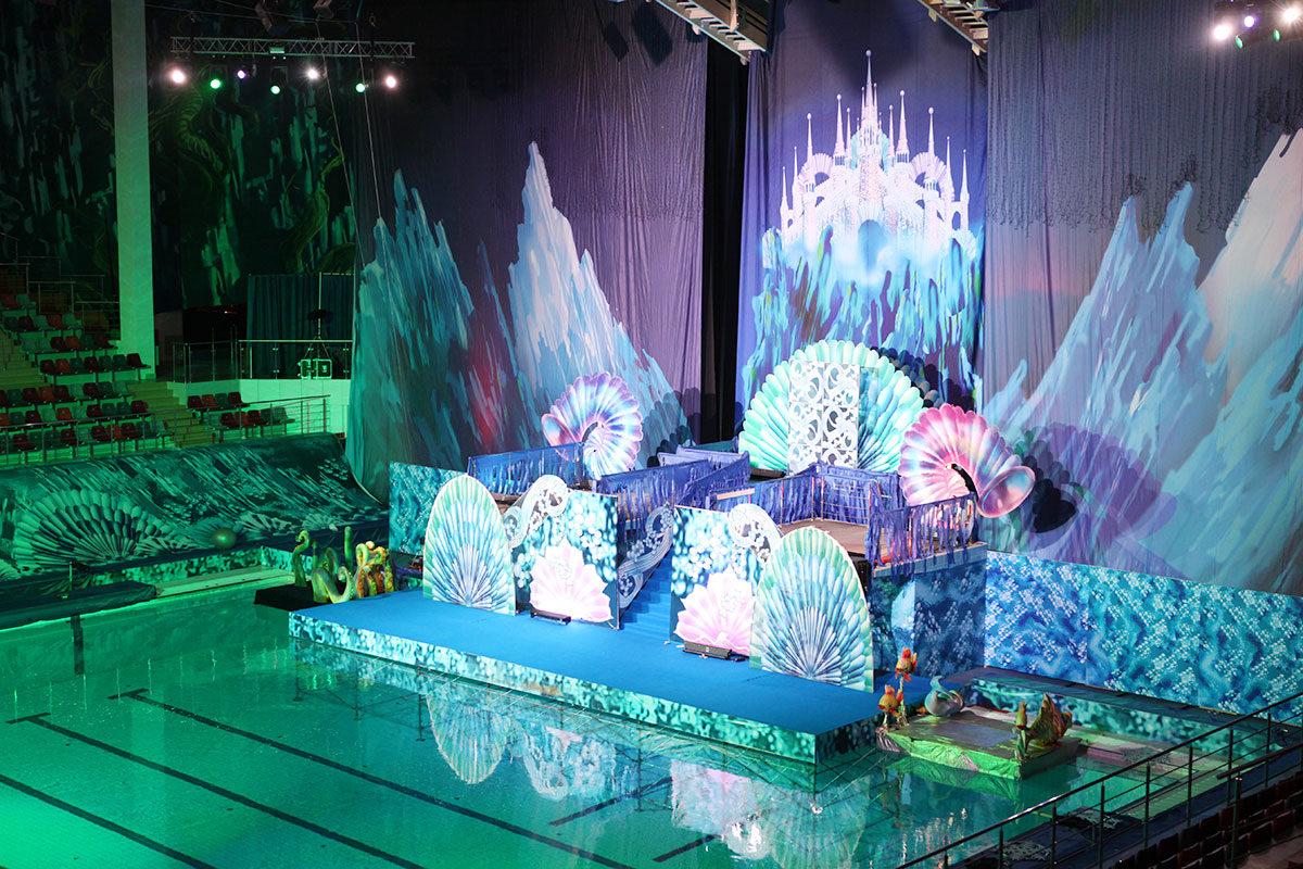 Шоу на воде «Русалочка и сокровища пиратов»