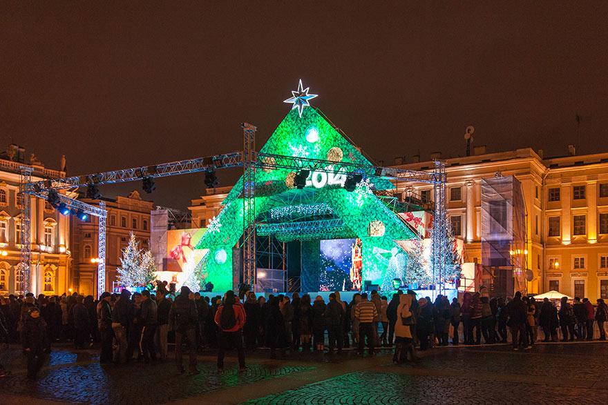 Праздничные новогодние гуляния 2013