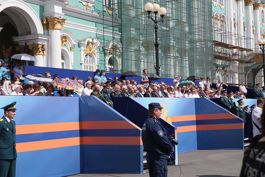 Празднование 210-летия пожарной охраны Санкт-Петербурга