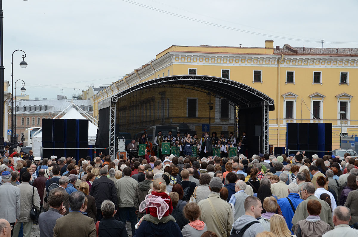 Гала-концерт фестиваля джаза «Свинг Белой ночи-2012»