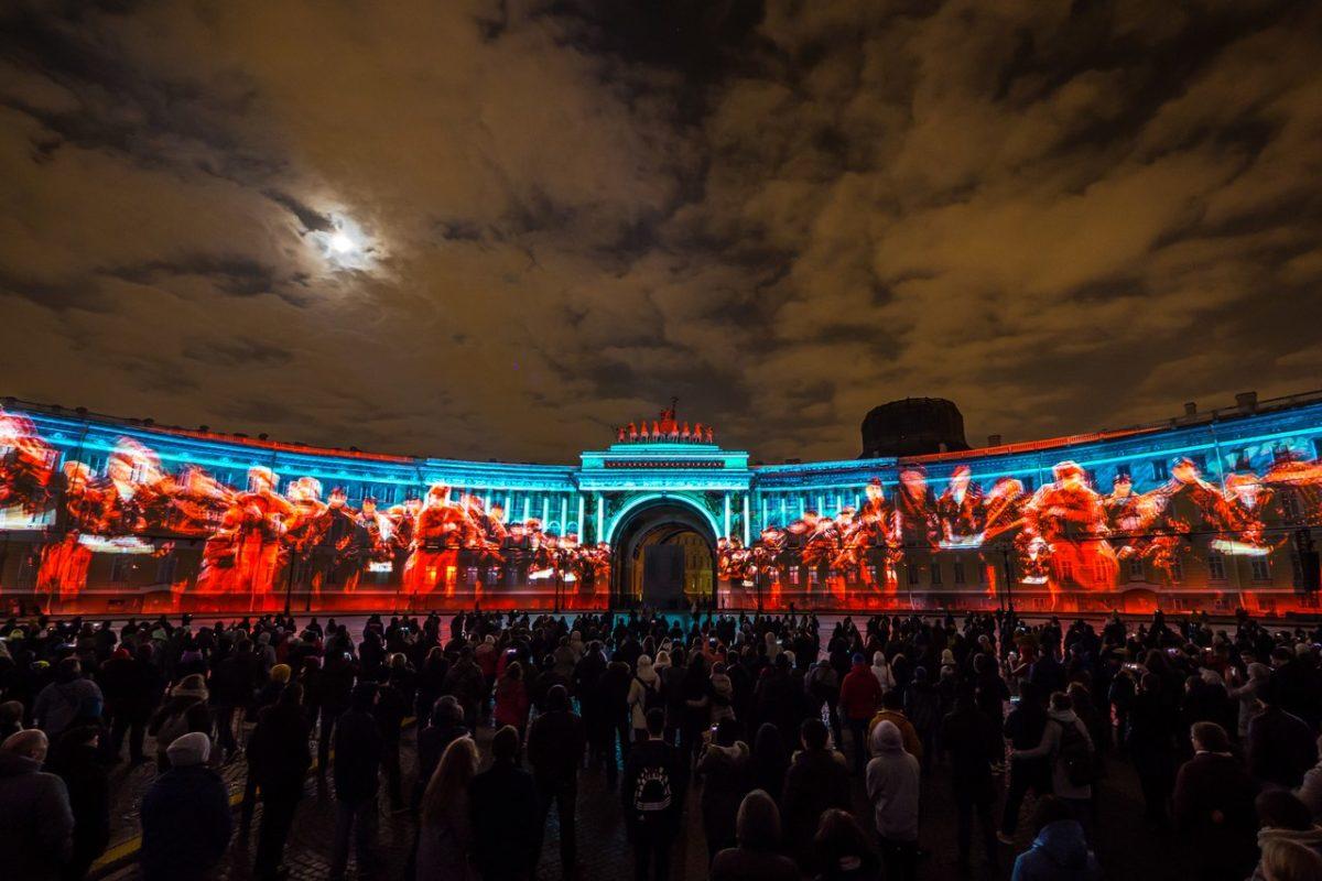 Фестиваль Света. Дворцовая пл.