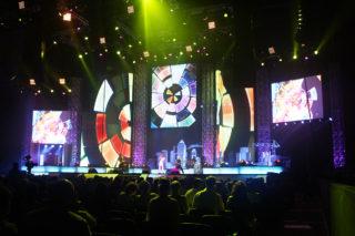 Праздничный концерт, посвященного Дню Строителя