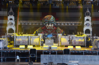 Концерт британской группы «Iron Maiden»