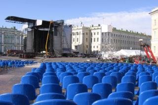 Концерт Мадонны на Дворцовой площади