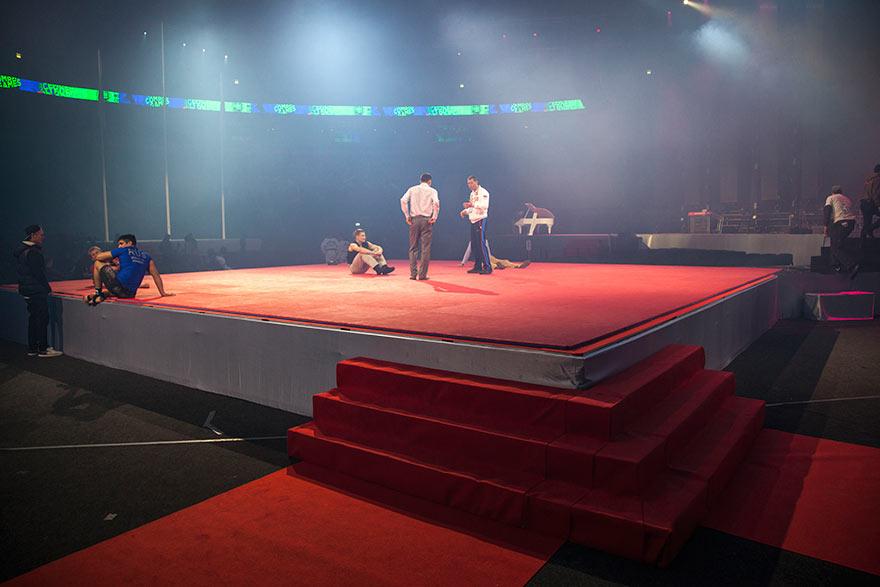 Церемония открытия II Всемирных игр боевых искусств