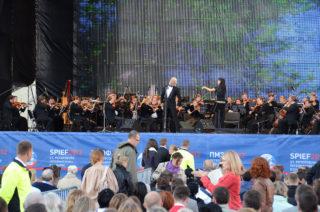 Концерт звезд оперы на Дворцовой площади