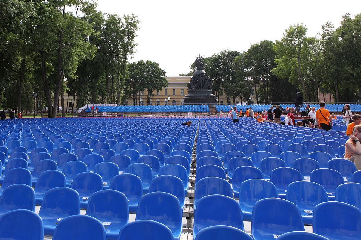 Open-air спектакль «Садко» в Новгороде