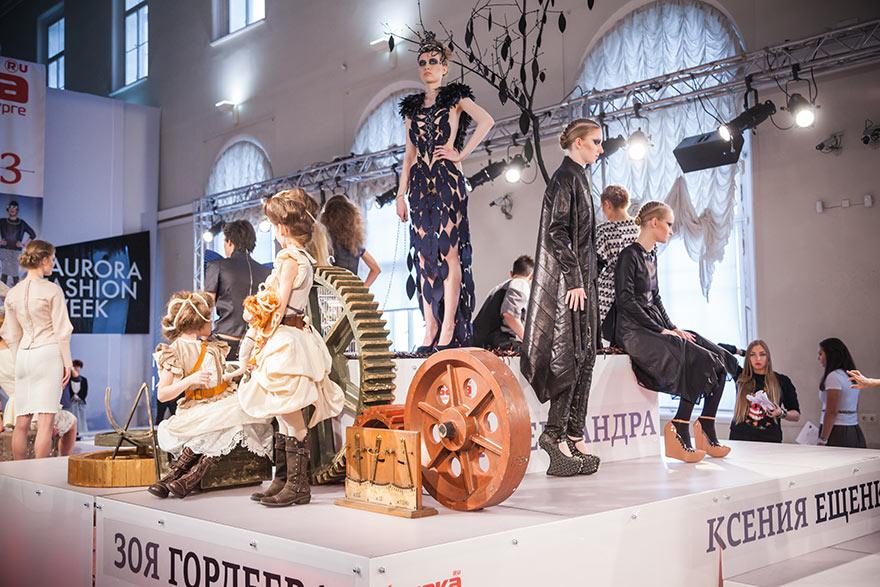 Международная Неделя моды AURORA FASHION WEEK Russia
