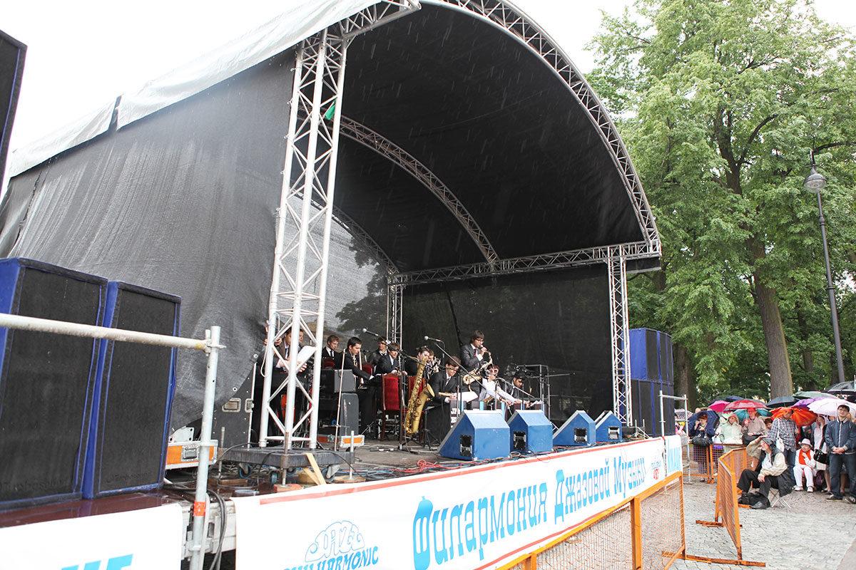 Гала-концерт на площади Искусств