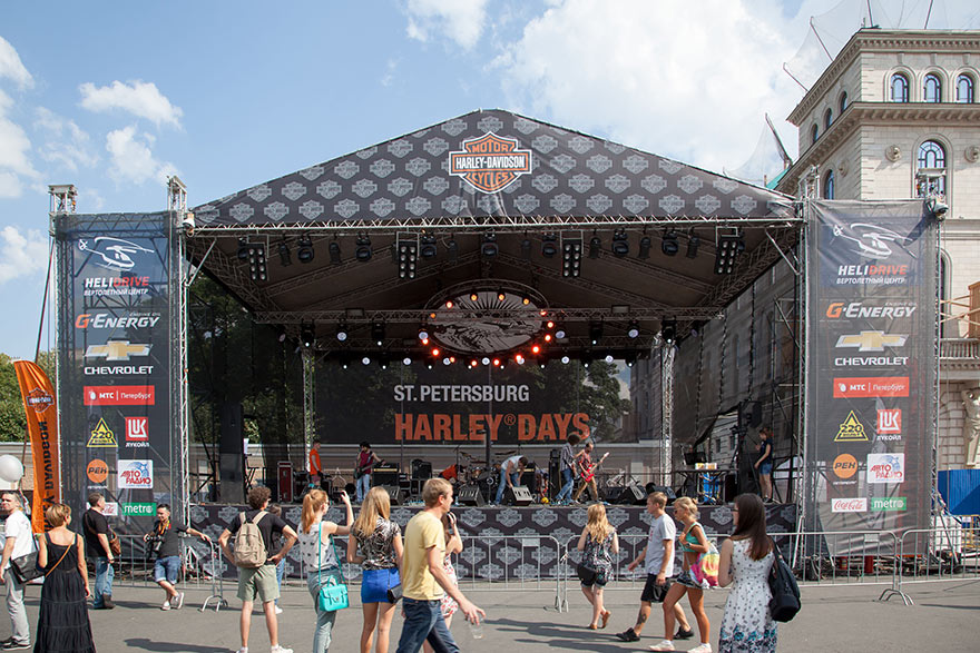 St.Petersburg Harley Days