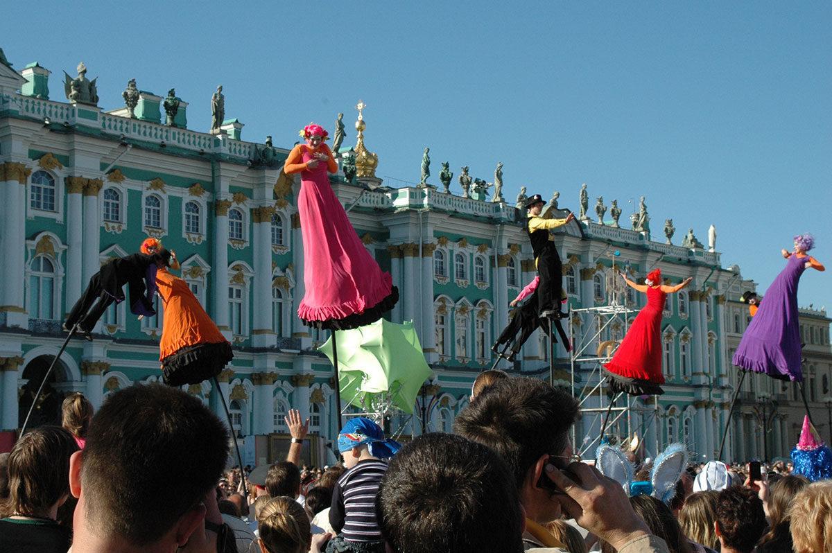 Празднование Дня основания Санкт-Петербурга