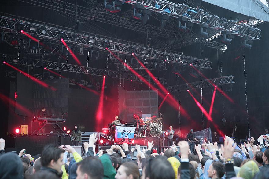 Концерт Linkin Park