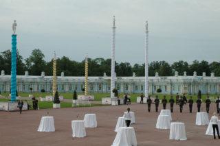 Торжественные мероприятия в Царском Селе