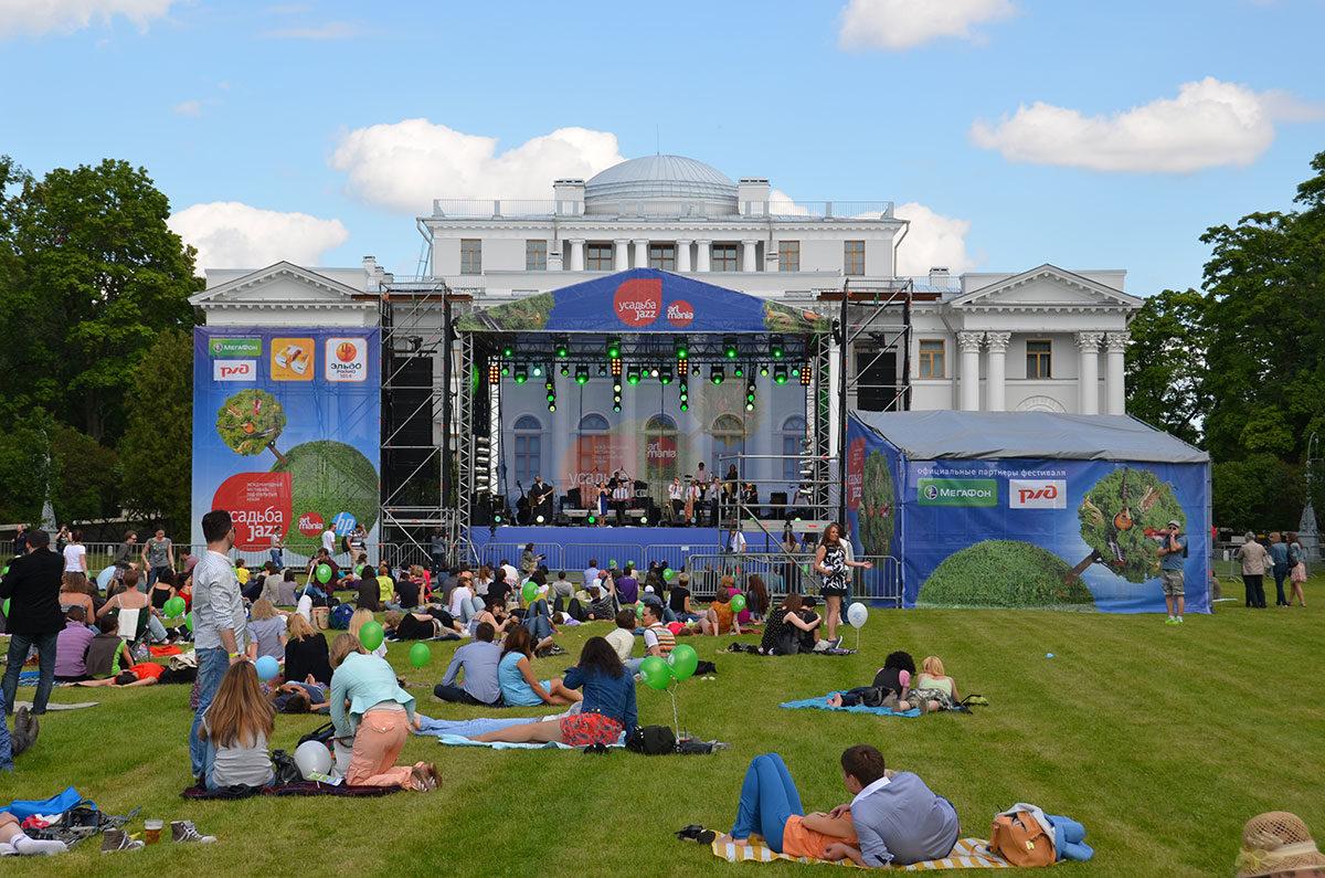Второй международный фестиваль «Усадьба Jazz»