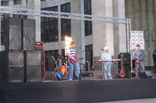 Съемки клипа группы «Нежный возраст»