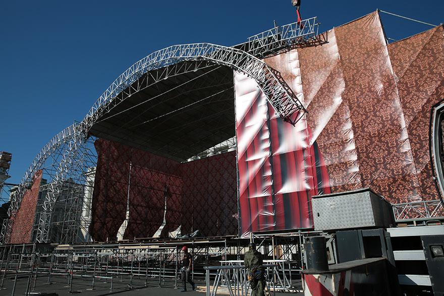 Концерт оперных квартетов на Дворцовой площади