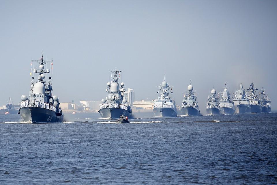 ВМФ-2018  Главный военно-морской парад страны