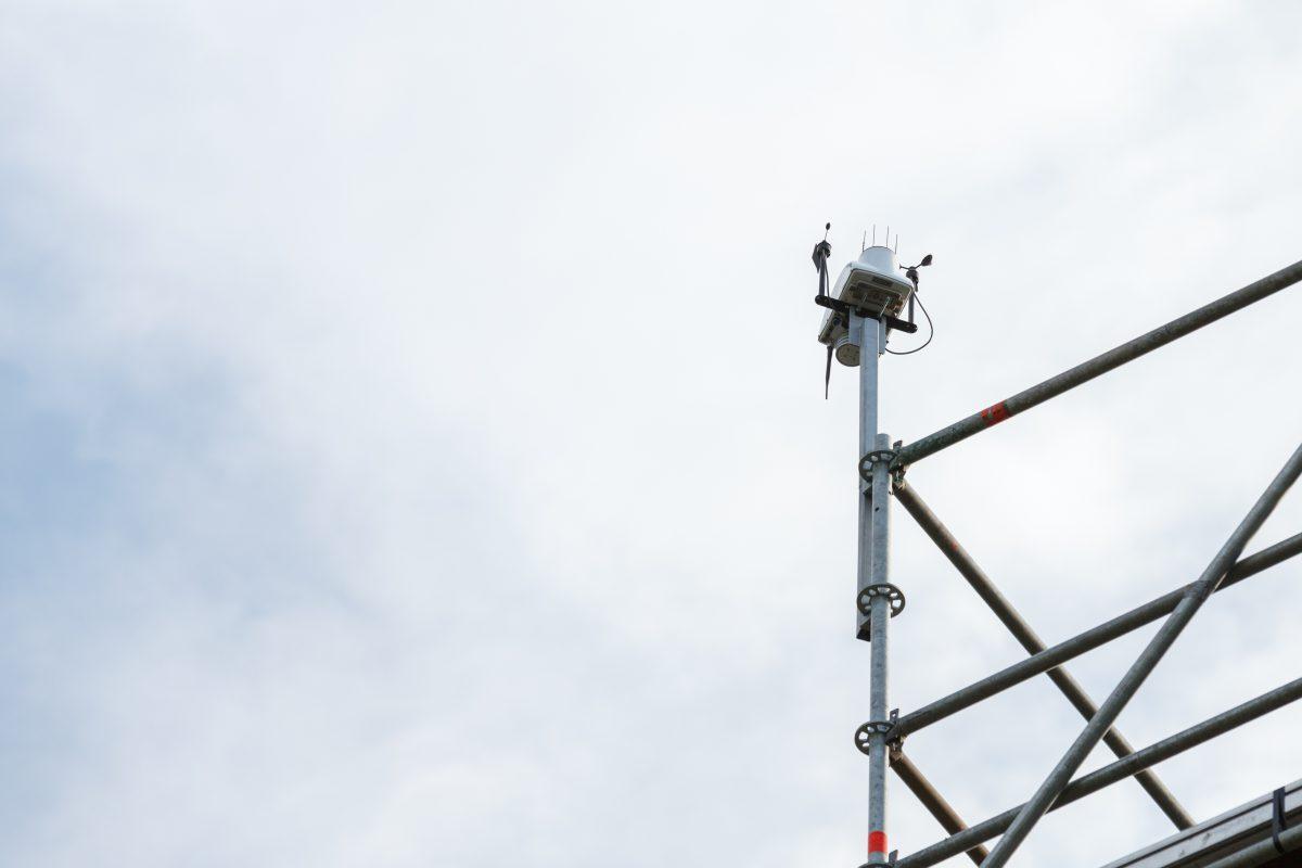 В нашем парке появилась метеостанция «СОКОЛ-М1»