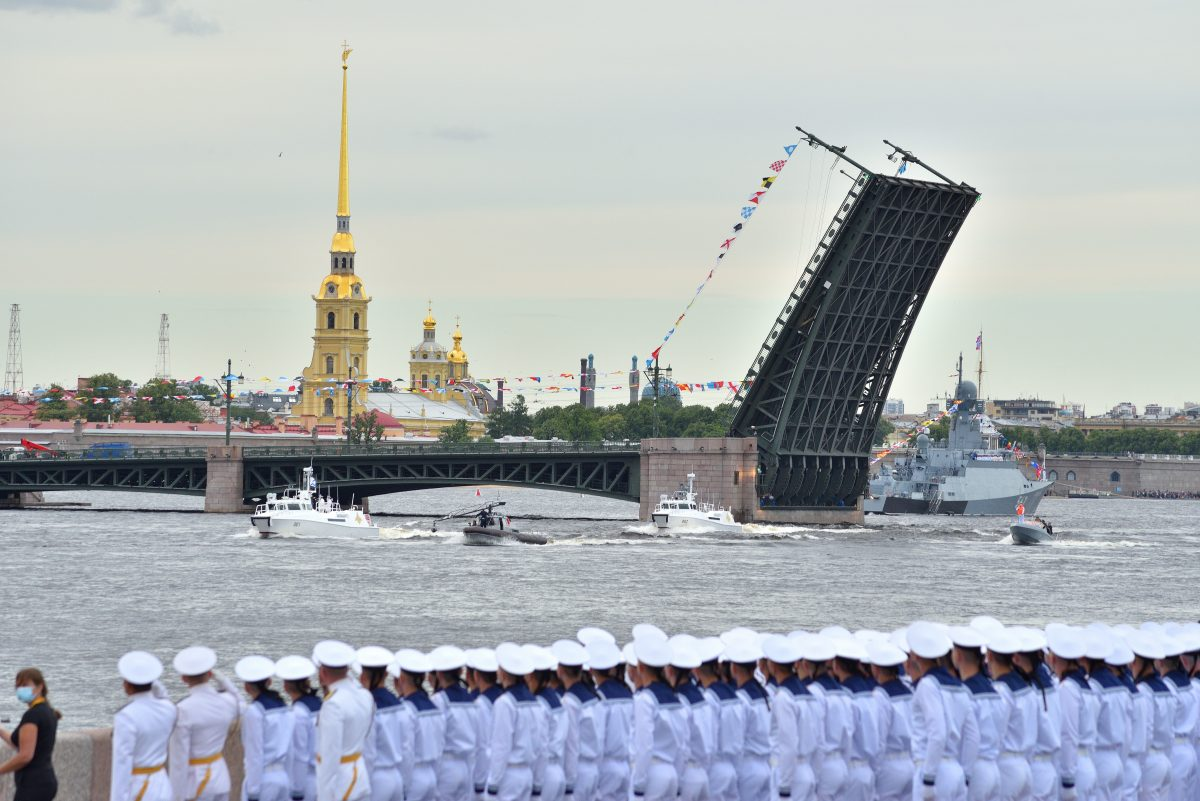 Парад ВМФ 2020